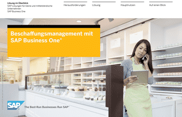 Beschaffungsmanagement mit SAP Business One