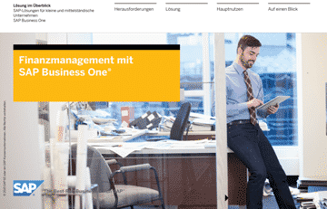 Finanzmanagement mit SAP Business One