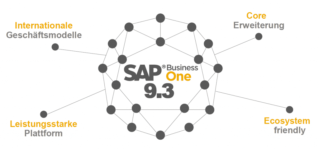 SAP Business One 9.3 Übersicht