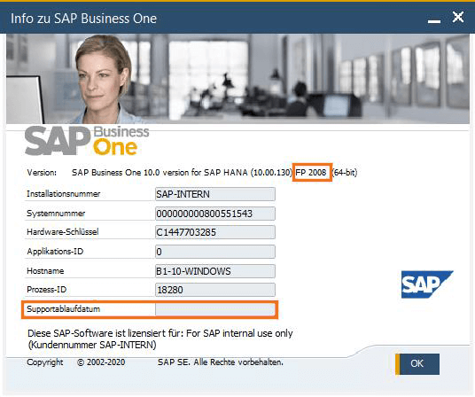 SAP-Business-One-Version-10.0-Administration-Supportablaufdatum